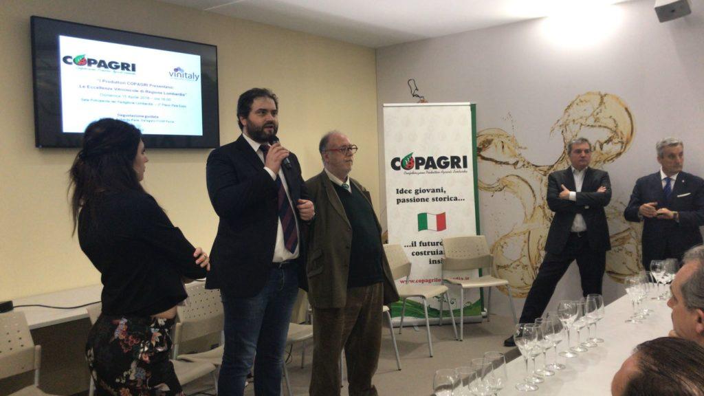 Roberto cavaliere Presidente Copagri Lombardia